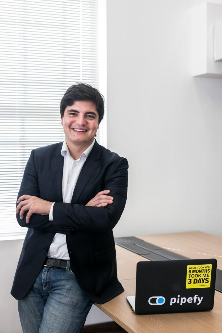 Alessio Alionco, fundador da Pipefy