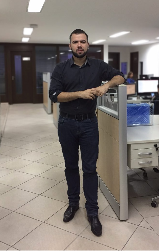 Raphael Fenelon, 26, diretor de inovação da Leapps