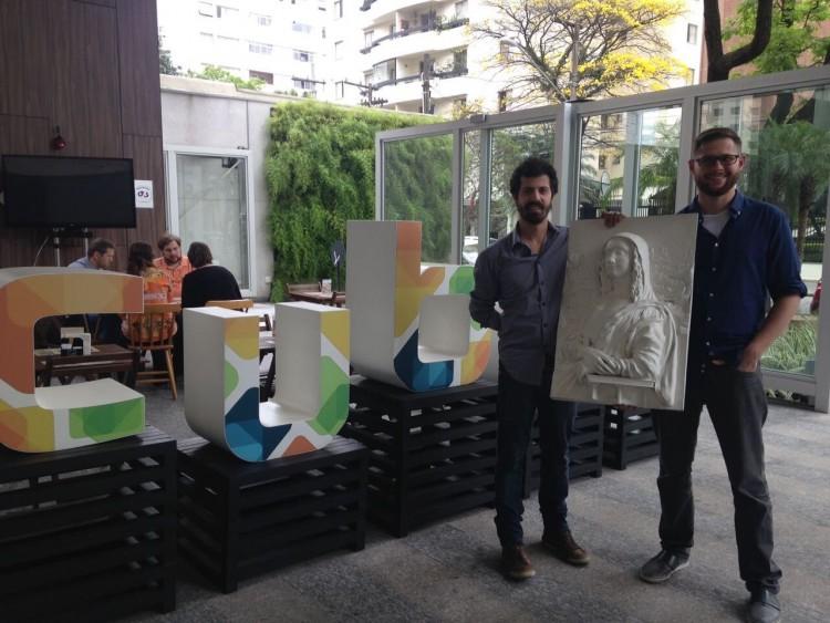 Marcelo Pasqua (a dir.) e Rafael Arevalo, sócios da empresa Tato (divulgação)